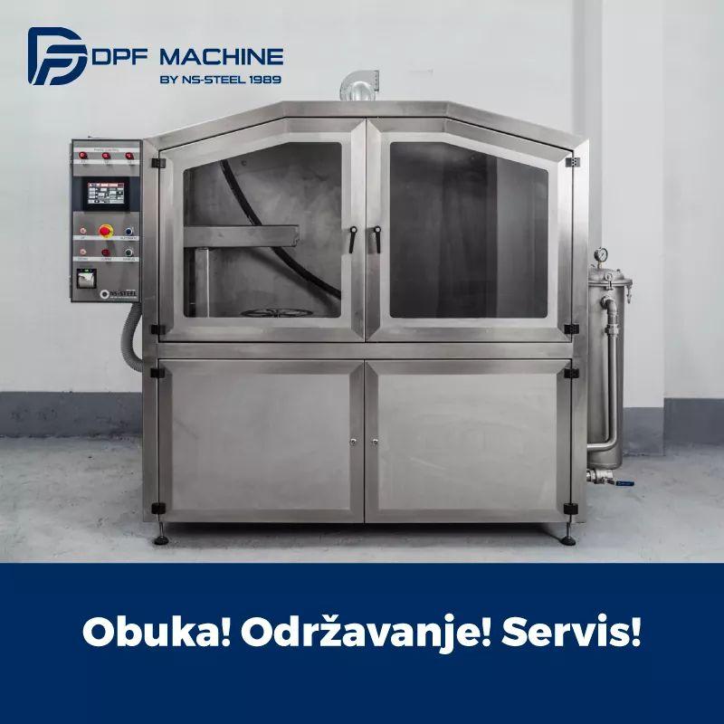 DPF MACHINE brend NS kompanije